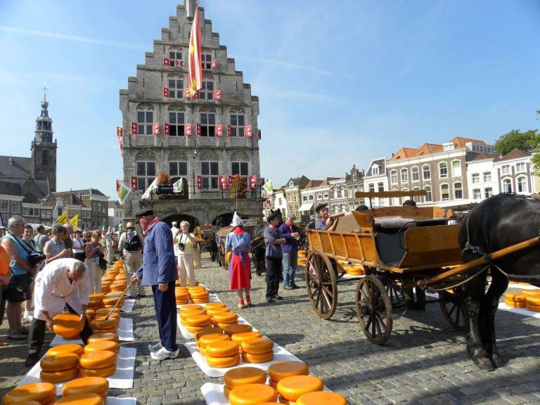 المسافات بين مدن هولندا