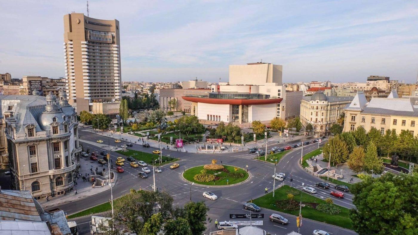 المسافة بين بوخارست والمدن الهامة في رومانيا