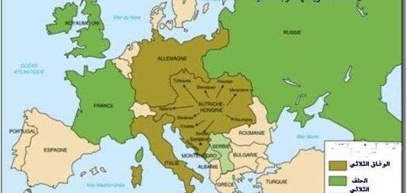 المسافة بين روسيا والدول المجاورة