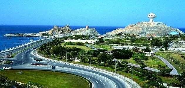المسافات بين مدن سلطنة عمان