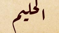 معنى اسم الله الحليم