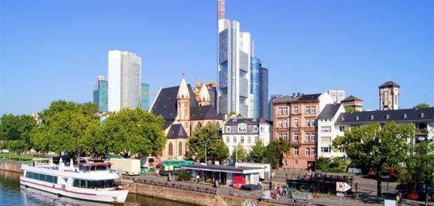 ألمانيا - فرانكفورت .. المسافات بين دول اوروبا بالسيارة
