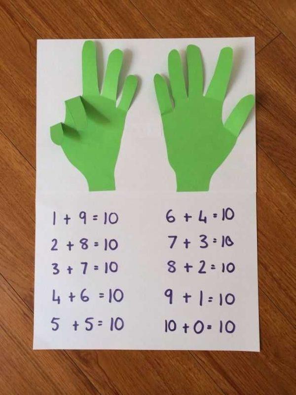 أفكار مطويات رياضيات
