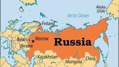 المسافات بين مدن روسيا