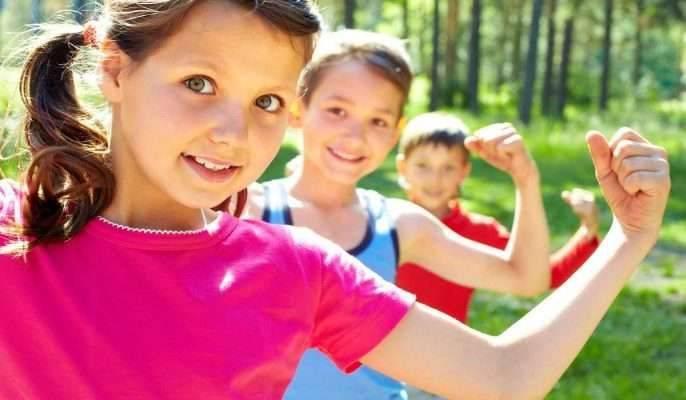 الرياضة .. تقوية مناعة الاطفال