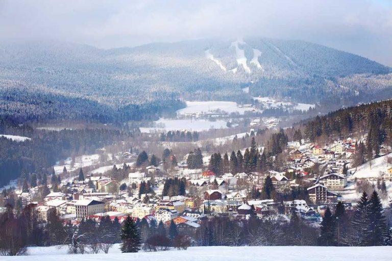 مدينة زيلينا رودا - الطبيعة في التشيك