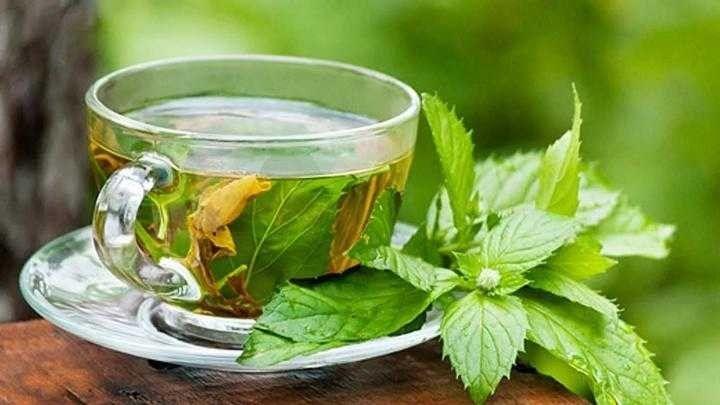 2- العلاجات المنزلية - شاي يالنعناع