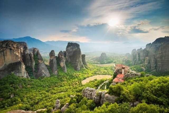 الطبيعة في اليونان ..