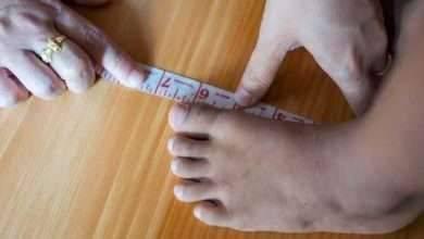 مقاسات احذية الاطفال حسب العمر ..