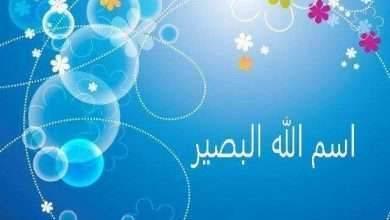 Photo of معنى اسم الله البصير .. تعرف على معنى اسم الله البصير وأثار وحظ المؤمن من اسم الله البصير