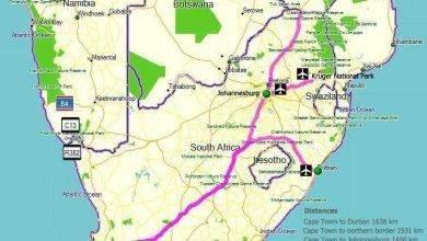 Photo of المسافات بين مدن جنوب افريقيا