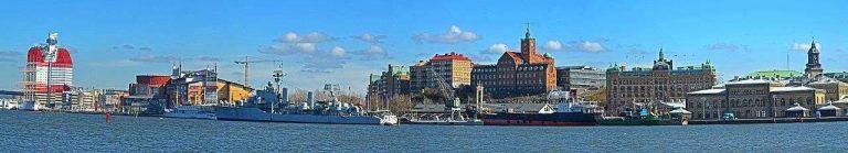 المسافات بين مدن السويد