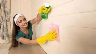 Photo of طريقة تنظيف الجدران من البقع