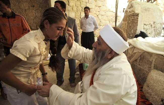 الزواج عند اليزيدية .. طريقة زواج اليزيدية