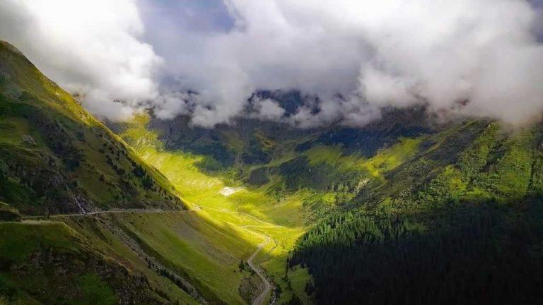 الطبيعة في رومانيا