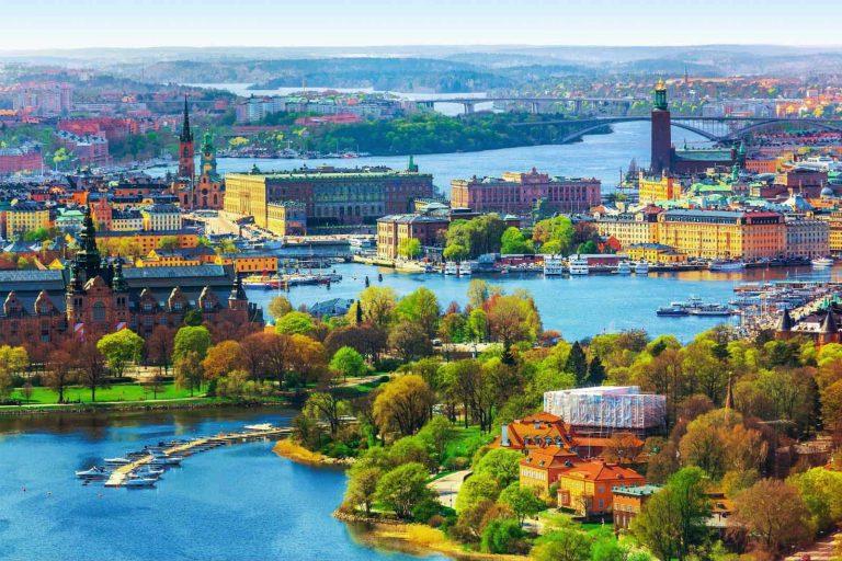 الطبيعة في السويد ..