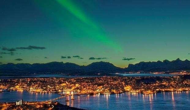 المسافات بين مدن تروندهايم - المسافات بين مدن النرويج
