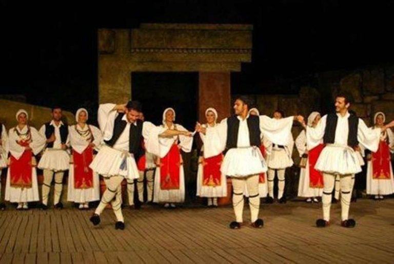 أنواع الرقص اليوناني