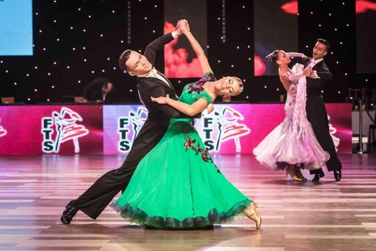 أنواع رقص الصالونات