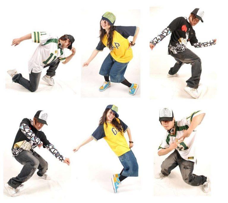 أنواع رقص الهيب هوب