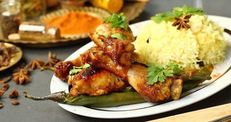 اكلات هندية بالدجاج والارز