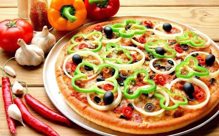 طريقة عمل البيتزا بدون فرن