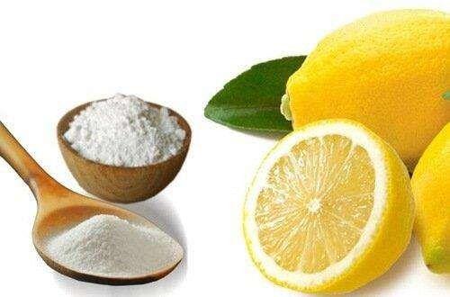 بيكربونات الصوديوم والليمون