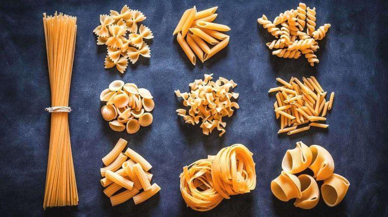 أسماء أنواع الباستا الإيطالية