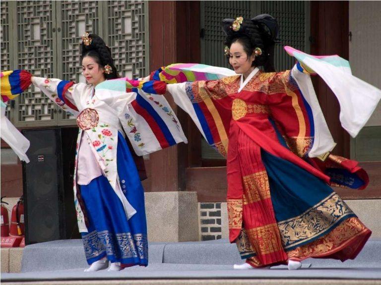 أنواع الرقص الكوري