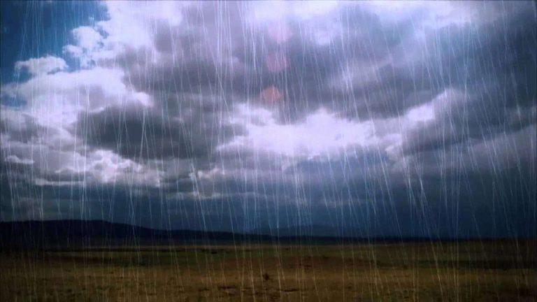 أسماء المطر في اللغة العربية