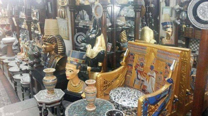التماثيل الفرعونية - أشهر منتجات مصر