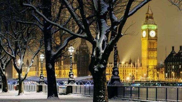 الشتاء في بريطانيا