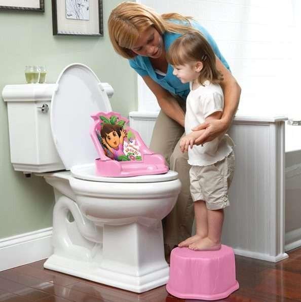 طريقة تعليم الأطفال الحمام
