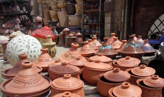 الفخار - أشهر منتجات مصر