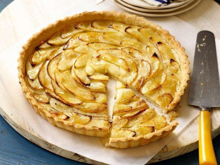 طريقة عمل تورتة التفاح