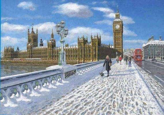 بريطانيا في الشتاء