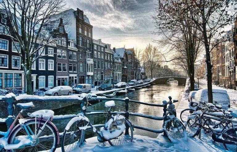 هولندا في الشتاء