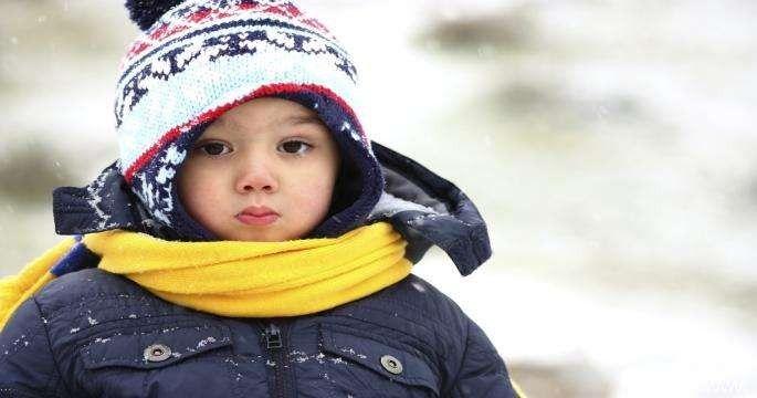 طريقة تدفئة الأطفال في الشتاء