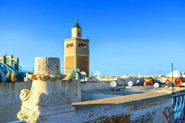 معلومات عن مدينة تونس تونس