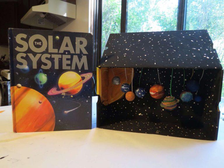 - بناء نموذج للتظام الشمسي