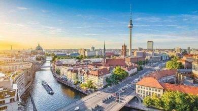 برلين في الشتاء