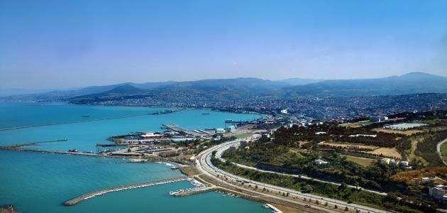 معلومات عن مدينة سامسون تركيا
