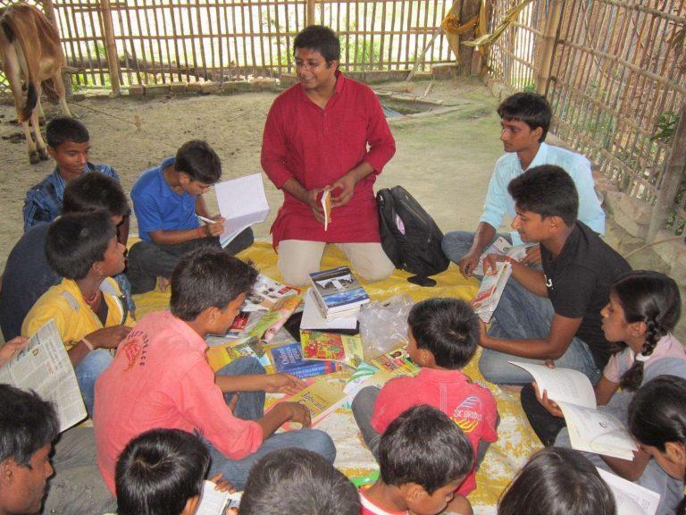 التعليم في ريف الهند
