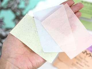 استخدام ورق النّشّاف