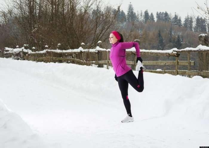 كيفية ممارسة الرياضة في الشتاء