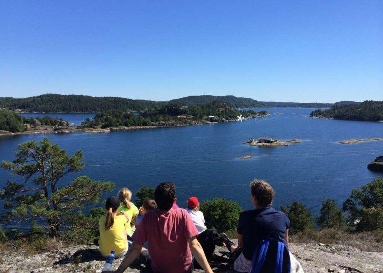 النرويج في الصيف