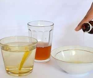 باستخدم العسل والجليسرين