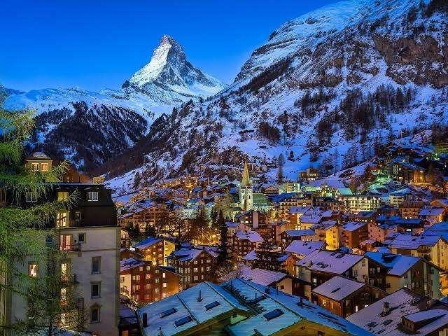 قرية زيرمات Zermatt