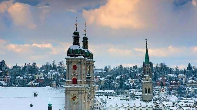 مدينة سانت غالن St Gallen
