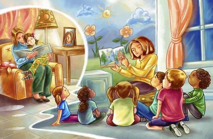 قصص عن مساعدة الآخرين للأطفال